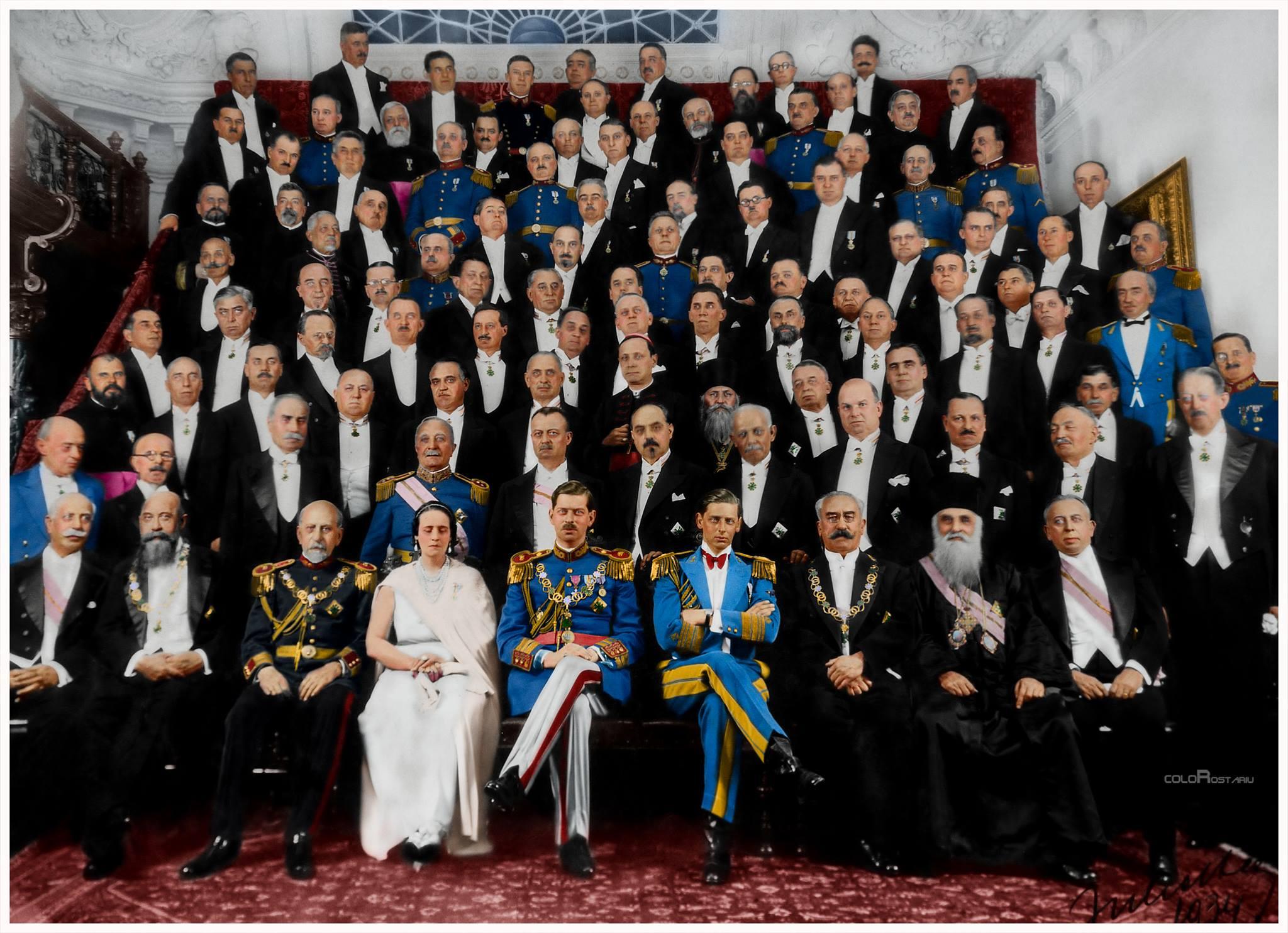 3-familia-regala-impreuna-cu-elita-politicii-romanesti-in-anul-1934-edit-color-de-rostariu-florin-2048x1484