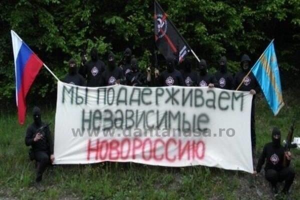 """""""Susţinem """"Novorossia"""" independentă"""". Membrii organizației extremiste maghiare HVIM sunt alături de separatiștii pro-ruși"""